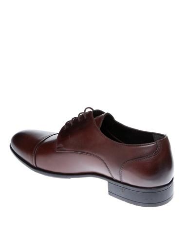 Cotton Bar Bağcıklı Klasik Ayakkabı Kahve